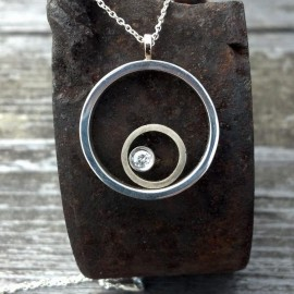 Mix Metal Pendant